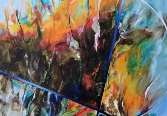 Technique: Huile sur toile Dimension: 150×120