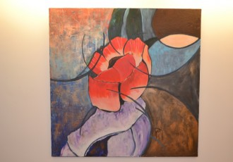 acrylique sur toile 90x90
