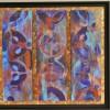 technique mixte et acrylique sur toile 80x80